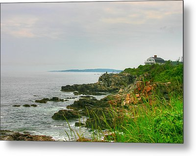 Cape Elizabeth Maine Metal Print