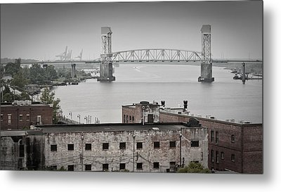 Cape Fear River - Photography By Jo Ann Tomaselli Metal Print