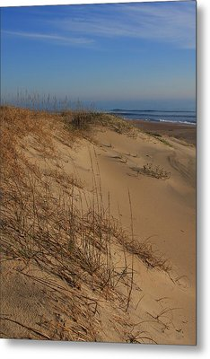 Cape Hatteras Dunes-outer Banks North Carolina Metal Print by Mountains to the Sea Photo