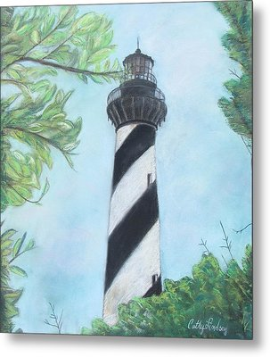 Cape Hatteras Light Metal Print