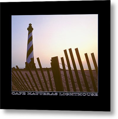 Cape Hatteras Lighthouse Metal Print by Mike McGlothlen