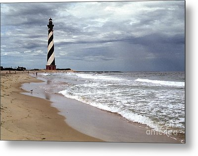 Metal Print featuring the photograph Cape Hatteras Lighthouse by Tom Brickhouse