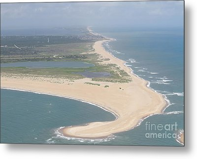 Cape Hatteras The Postcard Metal Print