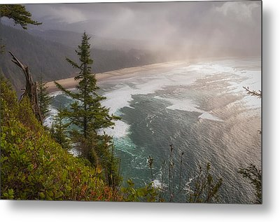 Cape Lookout Vista Metal Print by Mary Angelini