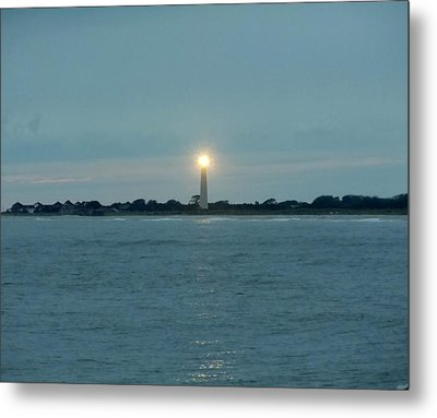Cape May Beacon Metal Print by Ed Sweeney