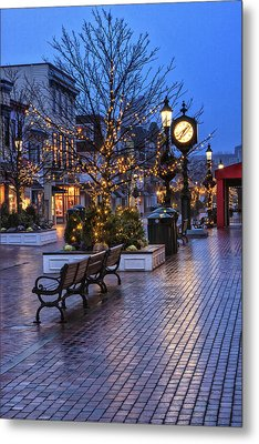 Cape May Christmas Metal Print