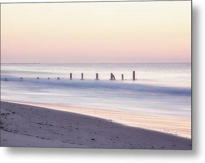 Cape May Ocean Dawn Metal Print by Tom Singleton