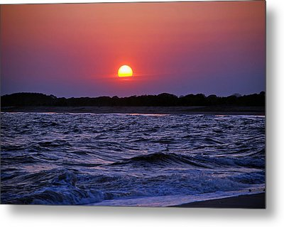 Cape May Sunset Metal Print by Richard Bryce and Family