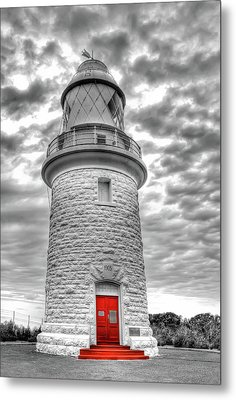 Cape Naturaliste Lighthouse Metal Print by Geraldine Alexander