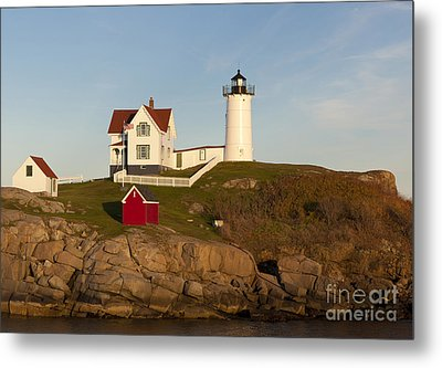 Cape Neddick Lighthouse Metal Print by John Shaw