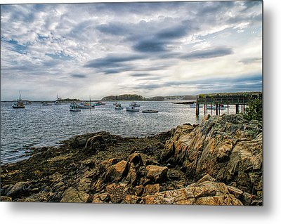 Cape Porpoise Maine - Beautiful Day Metal Print by Bob Orsillo