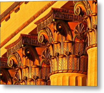 Metal Print featuring the photograph Capitals by Christopher Woods