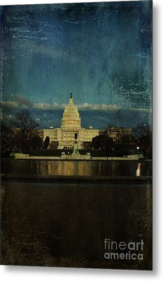Capitol Blues Metal Print by Terry Rowe