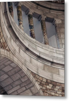 Capitol Curves Metal Print by Art Whitton