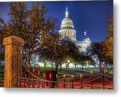 Capitol Stars Metal Print by Tim Stanley