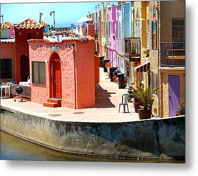 Capitola Metal Print by Dana Patterson