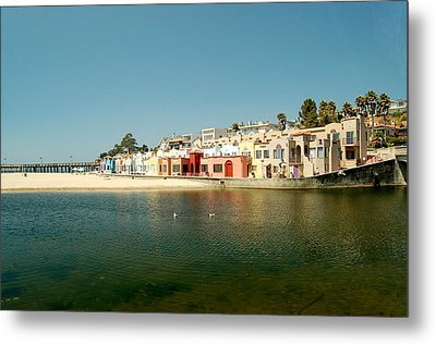 Capitola Villas Metal Print by Tamyra Crossley