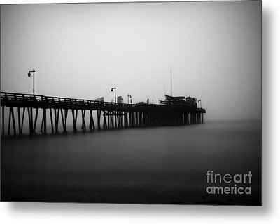 Capitola Wharf Metal Print by Paul Topp