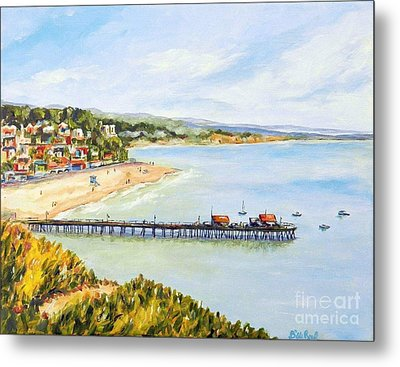 Capitola Metal Print by William Reed