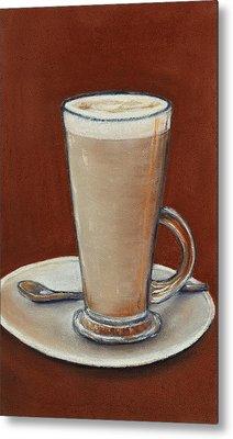 Cappuccino Metal Print by Anastasiya Malakhova