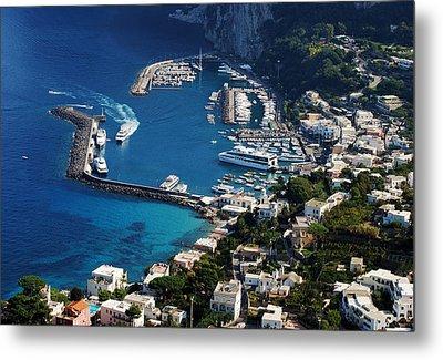 Capri Town Metal Print