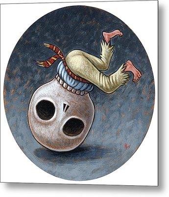 Caprichos Calaveras #1 Metal Print