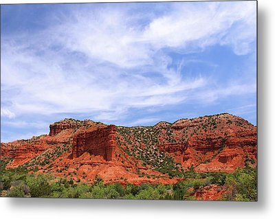 Metal Print featuring the photograph Caprock Canyons State Park by Elizabeth Budd