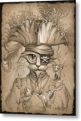 Captain Claw Metal Print