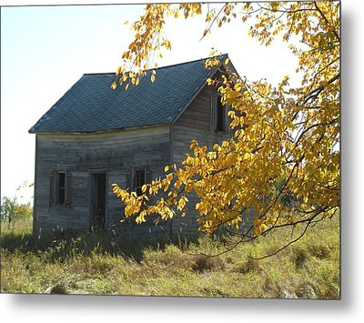 Metal Print featuring the photograph Captain Ed's Homestead by Penny Meyers