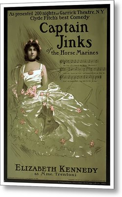 Captain Jinks Metal Print by Terry Reynoldson