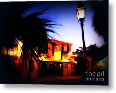 Captain Tony's Bar In Key West Florida Metal Print by Susanne Van Hulst