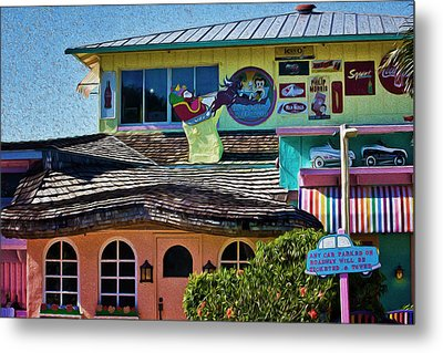 Captiva Beachside Fun Metal Print