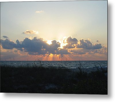 Metal Print featuring the photograph Captiva Island Fl by Jean Marie Maggi