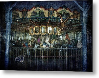 Captive On The Carousel Of Time Metal Print