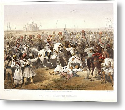 Capture And Death Of The Shahzadaghs Metal Print