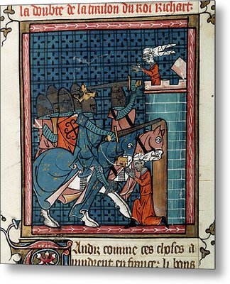 Capture Of Acre Metal Print by British Library