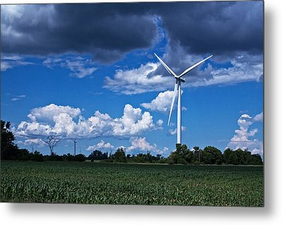 Metal Print featuring the photograph Capture The Wind by Dave Files