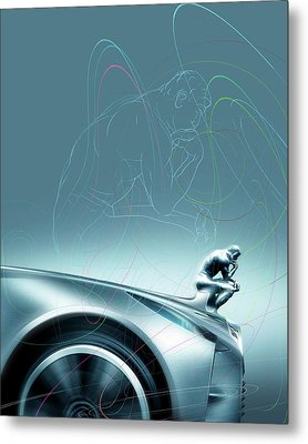 Car Design Philosophy Metal Print