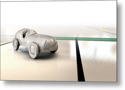 Car Monopoly Metal Print by Allan Swart