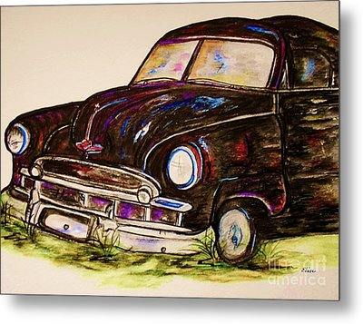 Car Of Character Metal Print by Eloise Schneider