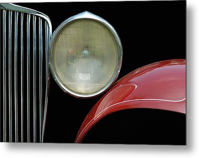 Car Parts Metal Print by Dan Holm
