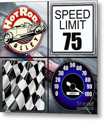 Speed Demon Art For Boys And Men Metal Print by Marvin Blaine