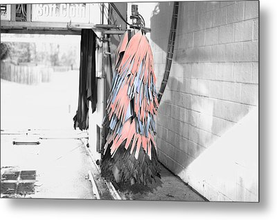 Car Wash Metal Print by J Riley Johnson