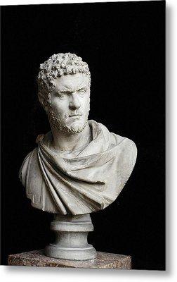 Caracalla. 212 - 217. Bust. Sculpture Metal Print