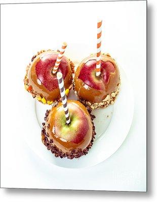 Caramel Apples Metal Print by Edward Fielding