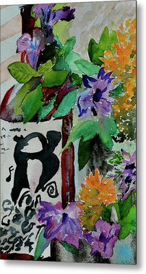 Metal Print featuring the painting Carefree by Beverley Harper Tinsley