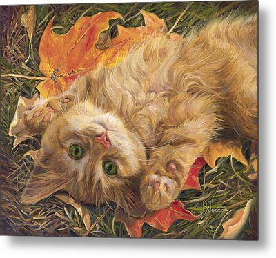 Carefree Metal Print by Lucie Bilodeau