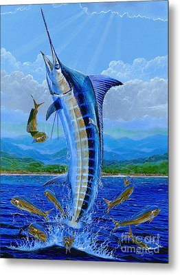 Caribbean Blue Off0041 Metal Print