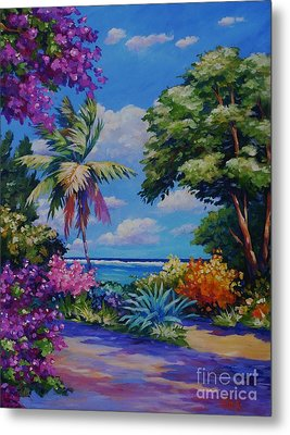 Caribbean Colours Metal Print by John Clark