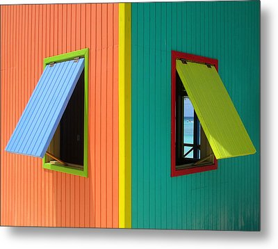 Metal Print featuring the photograph Caribbean Corner 4 by Randall Weidner